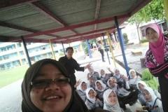Bola Tampar Peringat MSSPs di Sk Kampung Salang