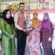 Pinjaman Buku berkelompok antara Perpustakaan Desa